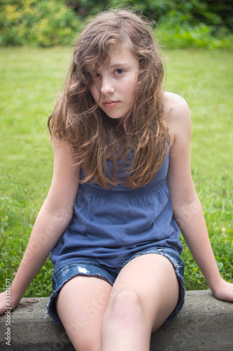 Shy Teenage Girl Stock Photo And Royalty Free Images On