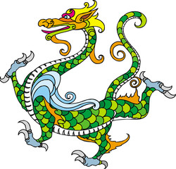 Chinese Dragon&Design material