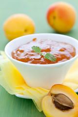 frische Aprikosenmarmelade
