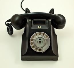 Old Rotary Phone Washed