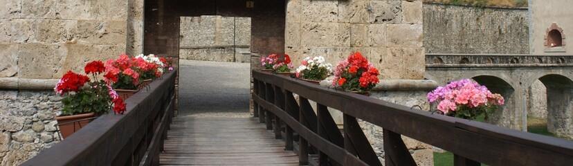 ingresso al Forte Albertino di Vinadio