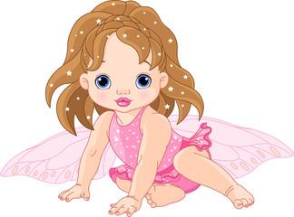 Keuken foto achterwand Magische wereld Cute little Fairy