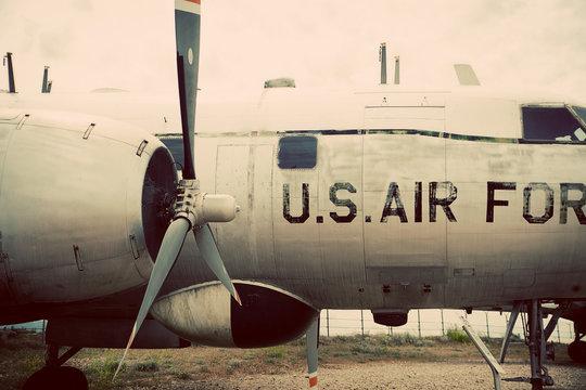 U.S. Air Force Vintage Plane