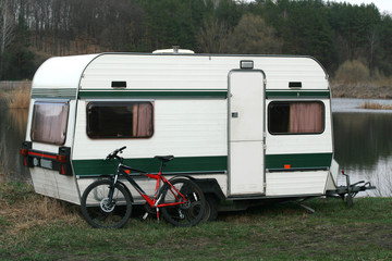 Trailer and bicycle