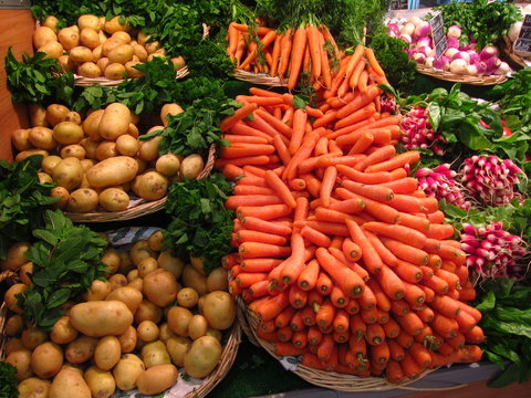 Legumes carottes
