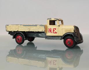vintage model lorry
