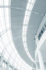 high glass wall