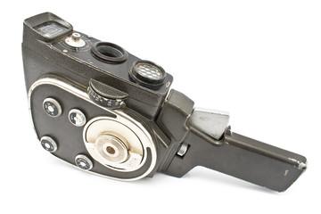 Old 8 mm movie camera