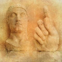 Roman sculpture - vintage series
