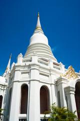 pagoda is heritage and  famous,bangkok