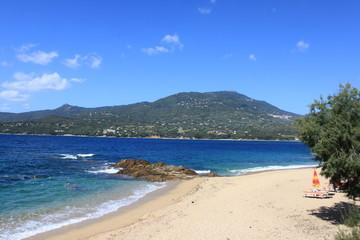 Plage de Propriano en Corse