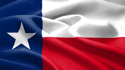 Foto op Canvas Texas Texas flag.