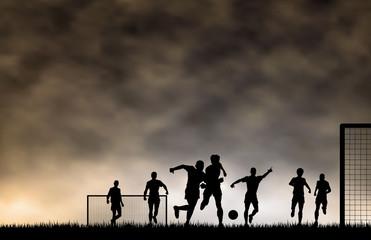 Fototapeta premium Piłka nożna