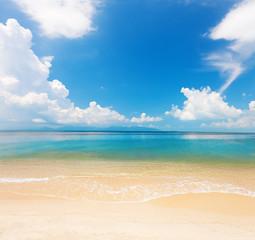 beach and beautiful tropical sea