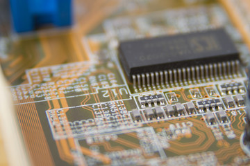 Computer Motherboard Chip