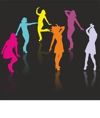 Dance, Tanzen auf der Tanzfläche