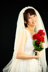 Princess MAIKO Benicio / BRIDES WEDDING / Black Background