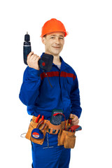 With smile and tools