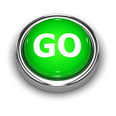 "3d Button ""GO"""