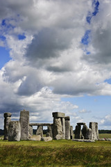Stonehenge, a megalithic monument in England