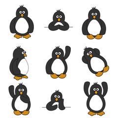 Cute Penguin Set