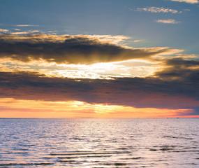 Fantasy Sunset Cloudscape