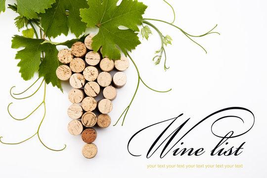 background to design a wine list
