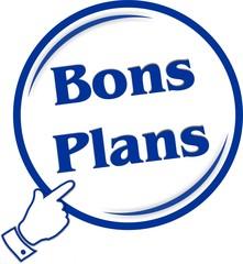 bouton bons plans