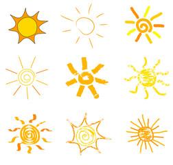 Suns drawings