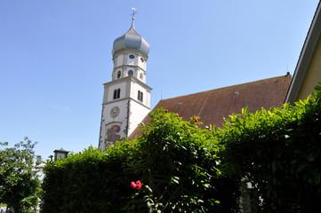 Kirche von Wasserburg am Bodensee