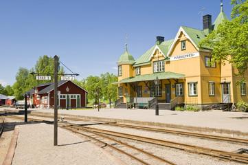 Sweden railway station
