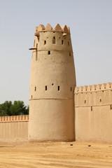 Al Jahili Fort in Al Ain, Abu Dhabi, United Arab Emirates
