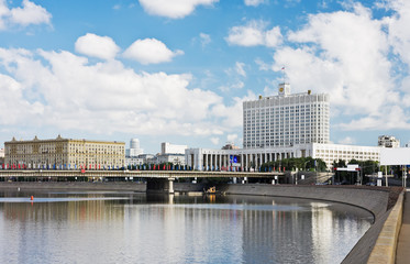 view from the Moscow River embankment