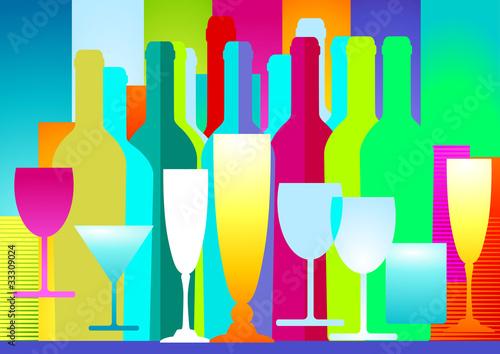 Getr nke dekoration stockfotos und lizenzfreie vektoren for Alkohol dekoration