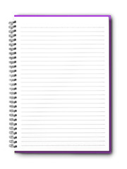 isolated  notebook