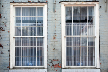 Alte marode Fenster