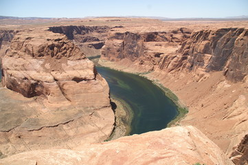 Deep canyon horseshoe bend ホースシューベンド