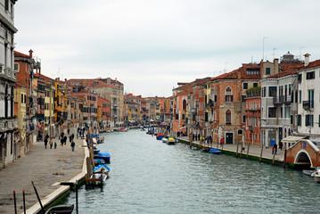 Italy, Venice Cannaregio canal