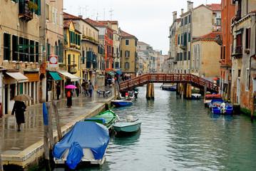 Italy,Venice rio of Misericordia in Cannaregio area.