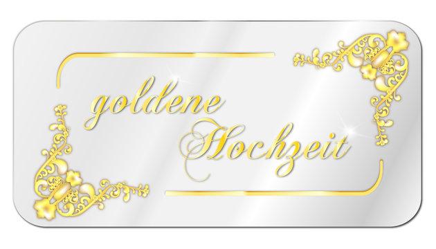 Rahmen kostenlos hochzeit goldene Goldene Hochzeit