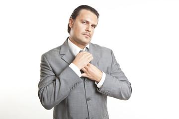 portrait of a cool elegant young man