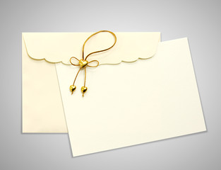 Envelope and mail wedding invitations,