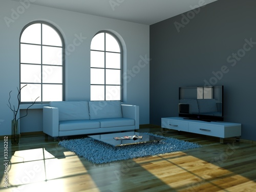 Wohnzimmer minimalistisch mit weissem sofa stockfotos und lizenzfreie bilder auf - Wohnzimmer minimalistisch ...