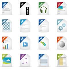 Filetyp Icons - DESIGN No. 3 -