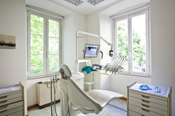 dentist office interior