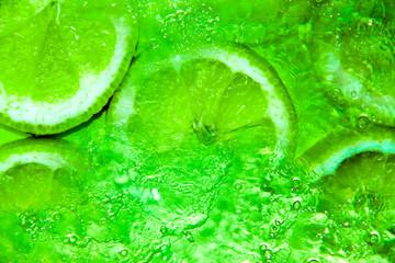 Spritzige Limonen