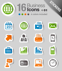 Stickers - Office and Business icons