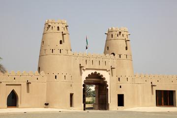 Al Jahili Fort in Al Ain, Emirate of Abu Dhabi, UAE