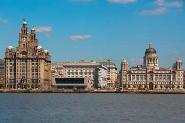 Liverpool Waterfront at Pier Head