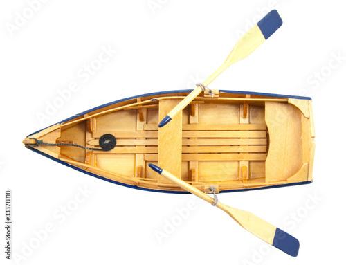 весла деревянных лодок